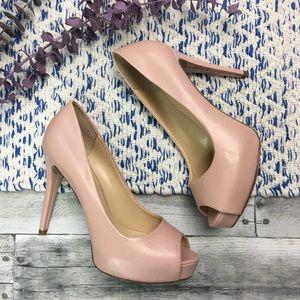Guess Platform Stiletto Heels Peep Toe Women's 7M